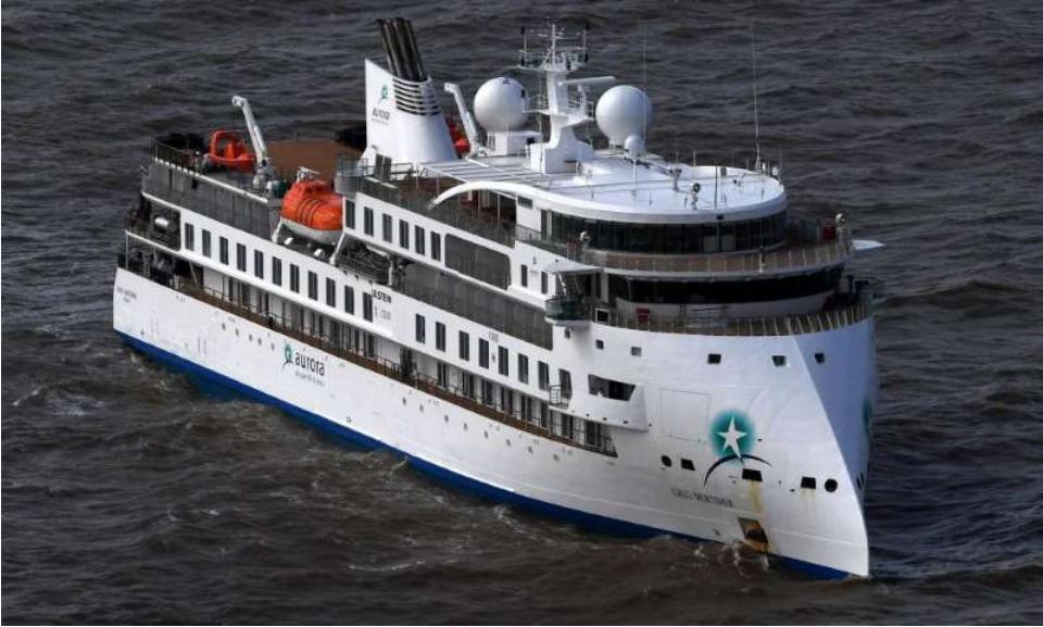 在乌拉圭附近搁浅的澳大利亚游轮报告船上60%有冠状病毒