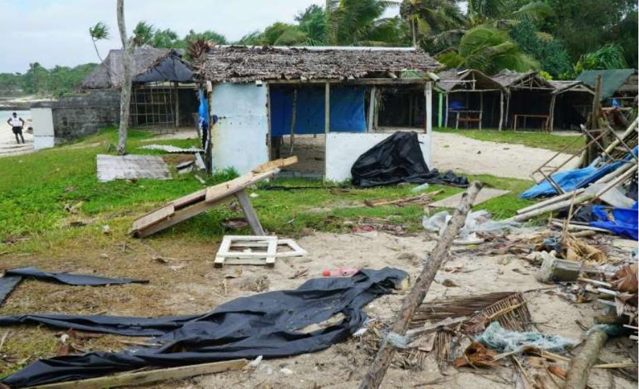 太平洋大风暴哈罗德前往斐济